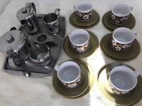 Vintage Tea set and tea pot set