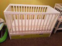 White baby furniture