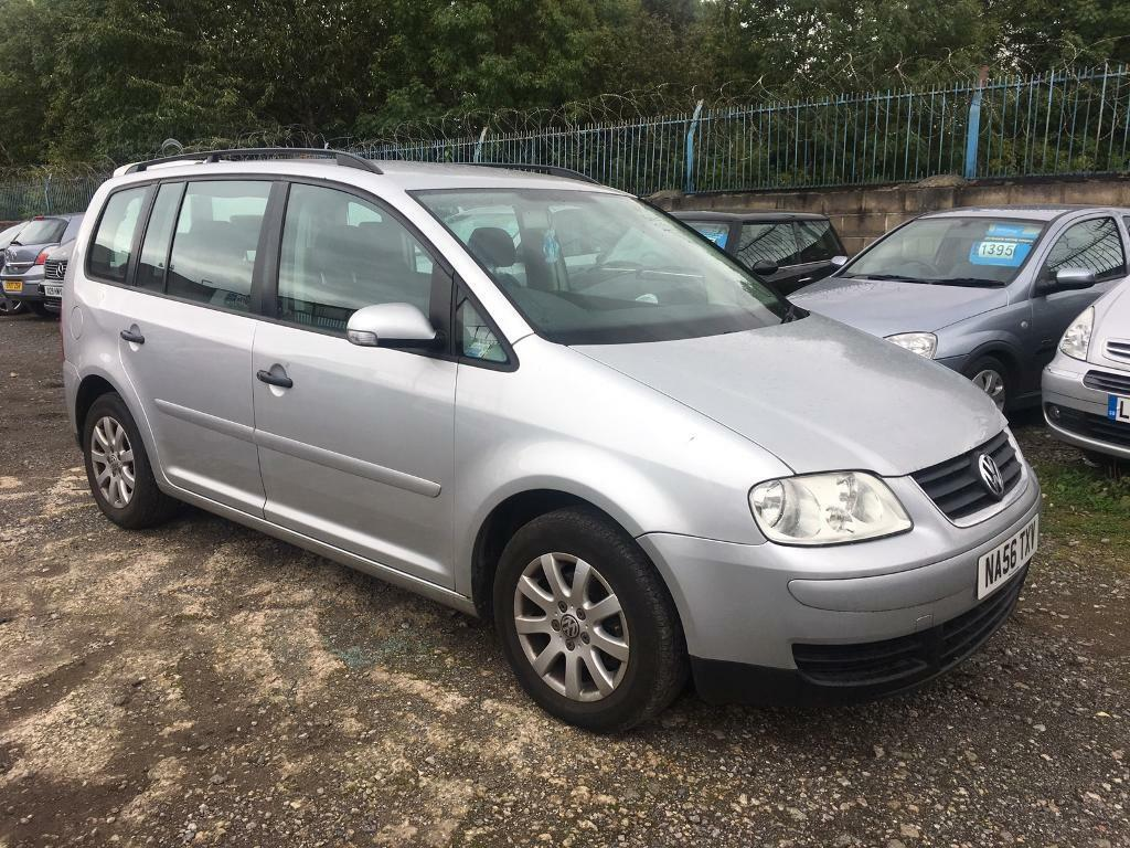 2006 VOLKSWAGEN TOURAN, 7 SEATER, MOT APRIL, 95k MILES, FSH, GOOD CONDITION