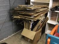 35 big strong cardboard boxes for sale!