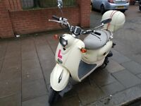 50 cc scooter with box perfect around town commuter