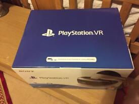 PSVR PS4 VR unit new £355
