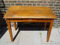 FREE DELIVERY Vintage Wooden Desk Table Retro Furniture