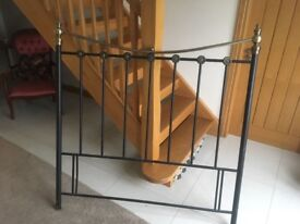 Bed headboard frame