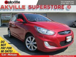 2012 Hyundai Accent GLS | 6 SPEED M/T | SUNROOF | HANDSFREE