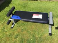 Weights bench and hand weights