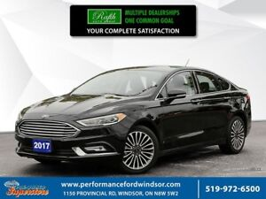 2017 Ford Fusion SE ***NAV, AWD, sunroof, leather***
