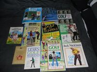 Set of Golf Books