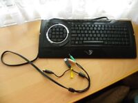 Emprex Cheetah 9051H Professional Gaming Keyboard - VGC