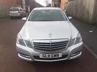 Mercedes Benz E class 220cdi blueefficiency Automatic Diesel year 2011