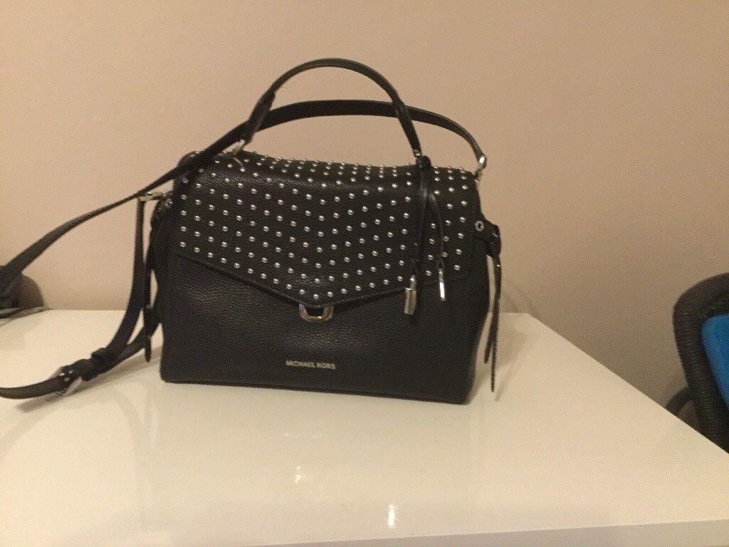 d3009d68b63ac Brand new Michael Kors studded Bristol satchel Bag Rrp £340 BNWT UNWANTED  GIFT