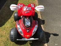 Feber Quad Brutale 12v quad bike NOW £40