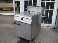 Falcon Dominator G2860 Twine baskets commercial fryer LPG gas.
