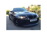 2009 BMW M3 E92 ++ RARE 5 DOOR ++ CARBON BLACK WITH RED LEATHERS ++ FULL SERVICE HISTORY ++ P/X WELC