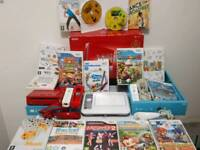 Boxed Nintendo Wii with 16 Games and UDraw game tablet