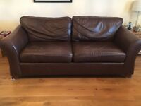 Marks and Spencer Abbey leather large & medium sofas and armchair