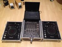Pioneer CDJ 1000 MK3 X 2 & 2 SD Cards - DJM 600 & ROAD READY CASES