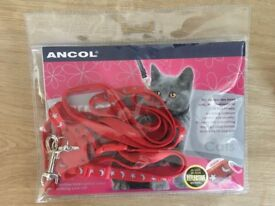 Ancol Kitten Harness - used only once