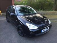 FORD FOCUS 1.6 LX 9 MONTHS MOT WITH SUNROOF
