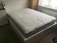 Ikea Ottoman Double Bed With Hesseng Mattress (£840 on ikea)