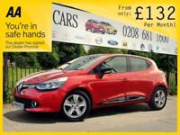 RENAULT CLIO 1.1 DYNAMIQUE MEDIANAV 5d 75 BHP Apply for finance Online today! (red) 2013