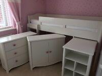 Next pretty girls bedroom furniture