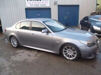 BMW 525D M Sport,rare 6 speed manual 4 door saloon,FSH,full leather interior,all the M Sport extras,