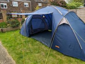 Family size tent. Sleeps 4 adults or 6 children