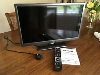 """TV 24"""" DVD,Wifi,USB,Freeview etc. Perfect Condition"""
