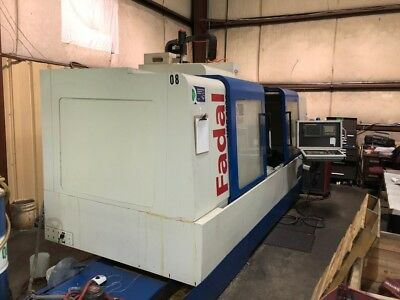 Used Fadal Vmc 8030 Ht Cnc Vertical Machining Center Mill Fanuc 10k Rpm Rigid 05