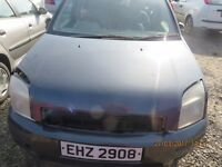 2004 FORD FUSION, 1.6L PETROL, BREAKING PARTS ONLY, POSTAGE AVAILABLE NATIONWIDE