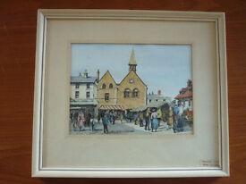Market Day Bury St Edmunds - Joan Knight