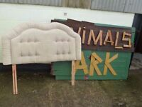Soft Fabric Double Headboard Delivery available
