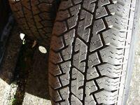 FULL SET (4) brand new Bridgestone 175x70x13 tyres on excellent Vauxhall/Corsa steel rims