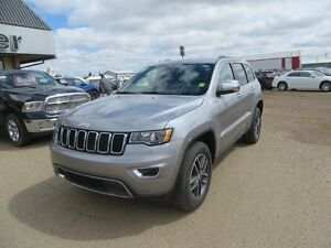 2017 Jeep Grand Cherokee LIMITED HEATED Seats! BLIND SPOT WARN!