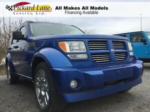 2008 Dodge Nitro SLT/RT AS IS. ALL WHEEL DRIVE  SUNROOF  POWER S