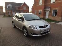 TOYOTA AURIS T-SPIRIT 2.0 DESIAL LONG MOT FULL FULLY SERVICED LOW MILEAGE FULL HPI CLEAR CROUIS