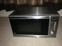 20 litres silver colour microwave in perfect condition