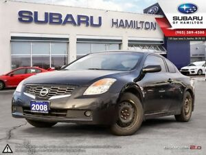 2008 Nissan Altima 2.5 S CERTIFIED | LOW KM | WINTER TIRES ON...