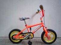 """(1865) 12"""" MAGNA FUNRACE Boys Girls Kids Bike Bicycle Age: 2-4 Height: 80-95cm"""