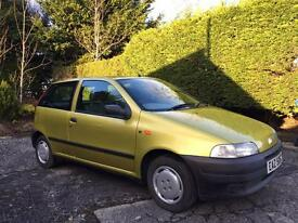 1994 Fiat Punto 1.1 SX Stunning condition and extremely low miles.