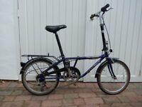 2 Dahon Ridgeback Tailwind folding bicycles. Used but in good condition.