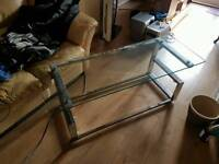 Glass TV stand/unit for sale