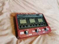 Zoom B3 Bass multi FX pedal