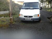 ford transit smiley 190 six stud axel