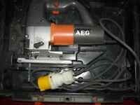 JIG SAW AEG STEP 1200 BX Jigsaw (110 Volt)