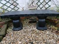Oriental style Garden bench