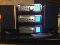 Kenwood stacking stereo