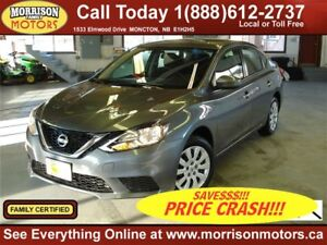 2017 Nissan Sentra 1.8 SV |PRICE CRASH!