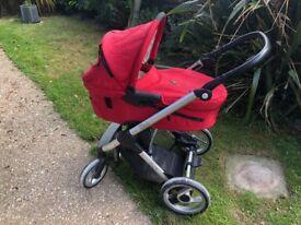 Musty evo travel system pushchair